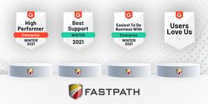 Fastpath G2 Award Winner Winter 2021