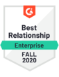Fall 2020 - best relationship enterprise