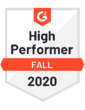 Fall 2020 - high performer fall