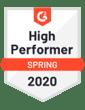 Spring 2020 - high performer