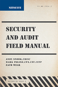 NetSuite Security Audit Manual